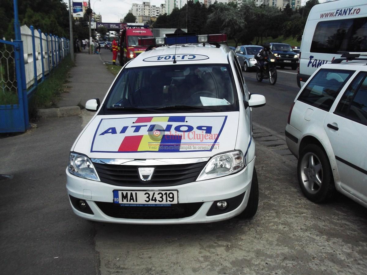 Accident grav in Feleacu! O femeie a ajuns la spital din cauza unui sofer neatent
