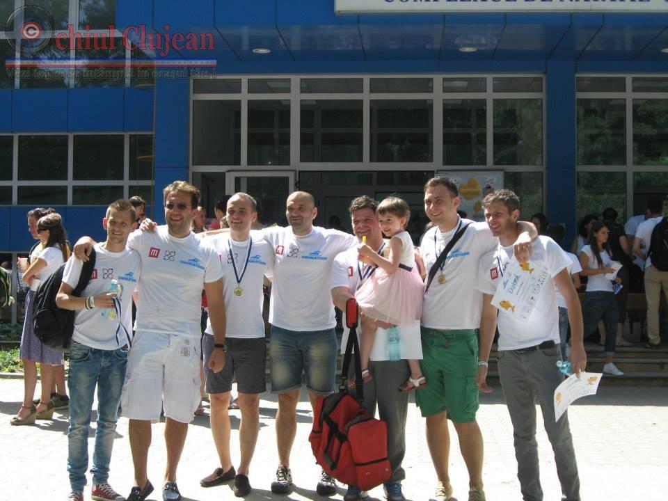 Swimathon 2014! Echipa Marty Cluj a inotat pentru tabara copiilor dependenti de dializa FOTO