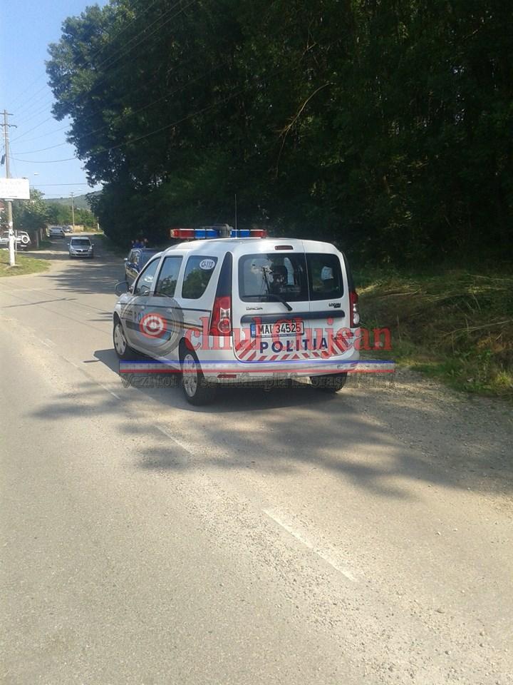 Accident grav la Sanpaul! Doua persoane au ajuns la spital