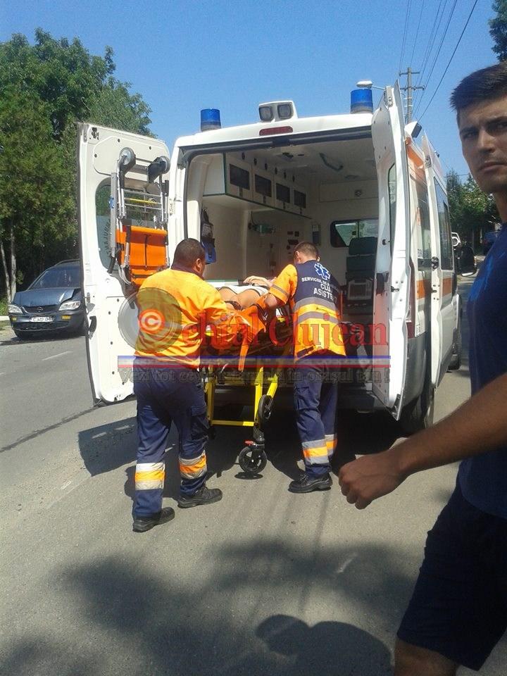 Accident pe strada Șomcutului din Dej, produs de un șofer beat