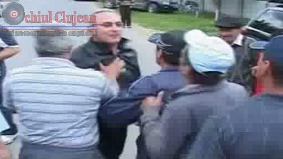 Sapte scandalagii au ajuns in arest  dupa o altercatie cu politistii