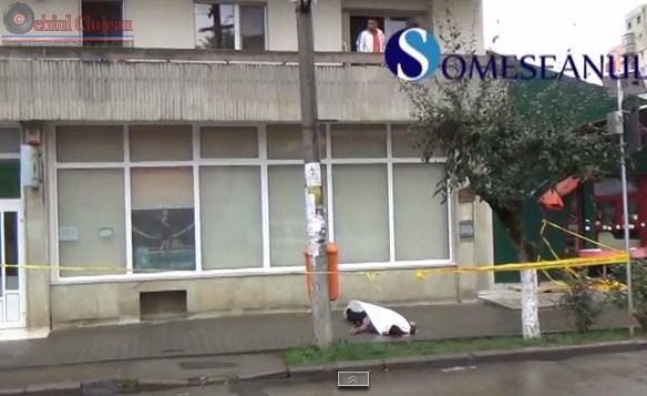 Un barbat din Dej si-a pus capat zilelor! S-a aruncat de pe blocul in care locuia VIDEO
