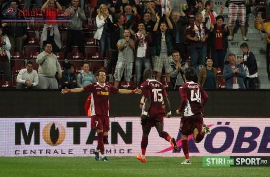 Fotbal:CFR Cluj-Astra 4-1! Ciprian Deac a facut show VIDEO