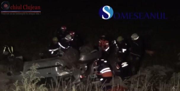 Accident grav in Manasturel! Trei tineri au murit VIDEO