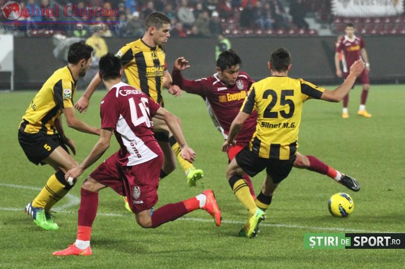 CFR Cluj-FC Brasov 1-2