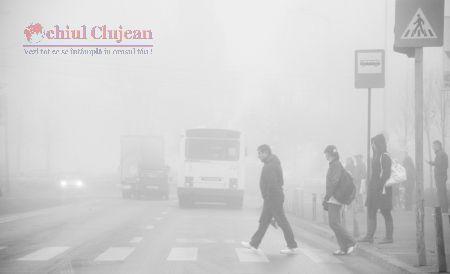 ATENȚIE ȘOFERI! Circulați cu atenție pe timp de ceață . Ce ne recomandă Poliția Cluj