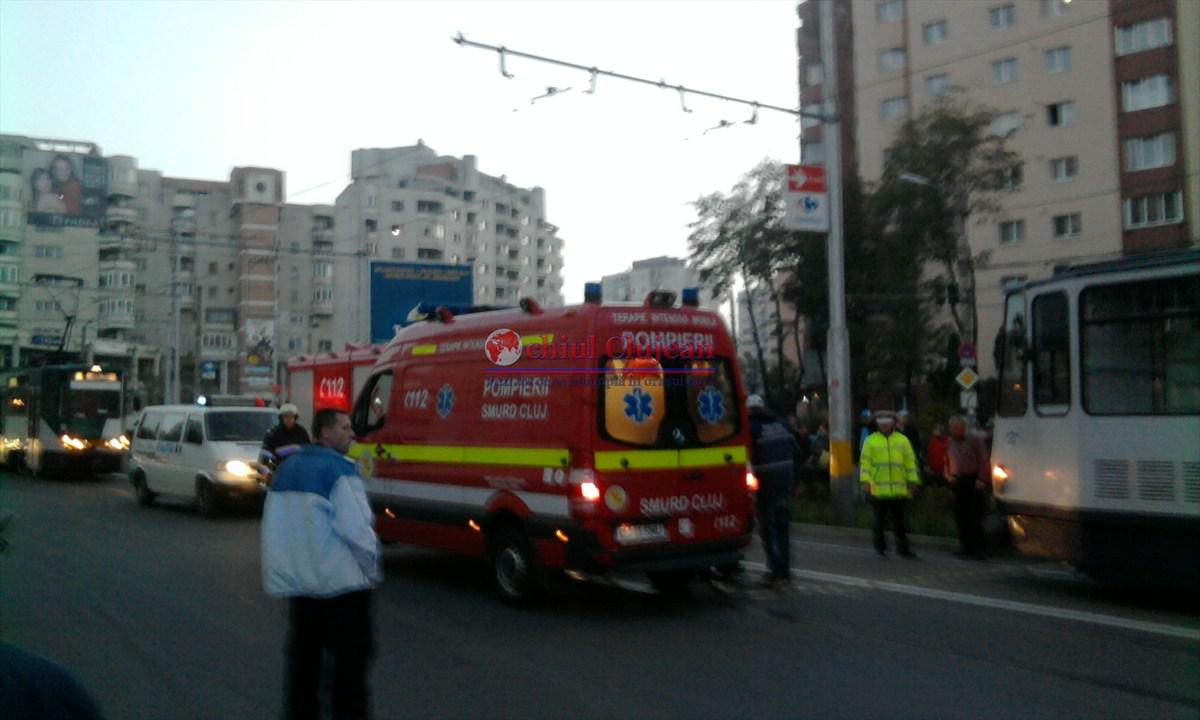 Traversarea neregulamentara face victime la Cluj