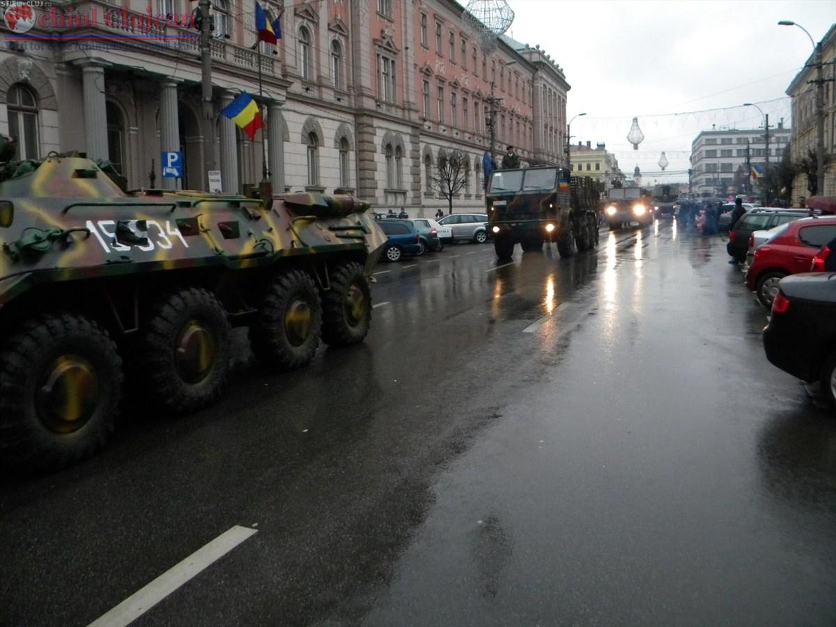 Cluj-Napoca: Restricții de circulație cu ocazia unei parade militare
