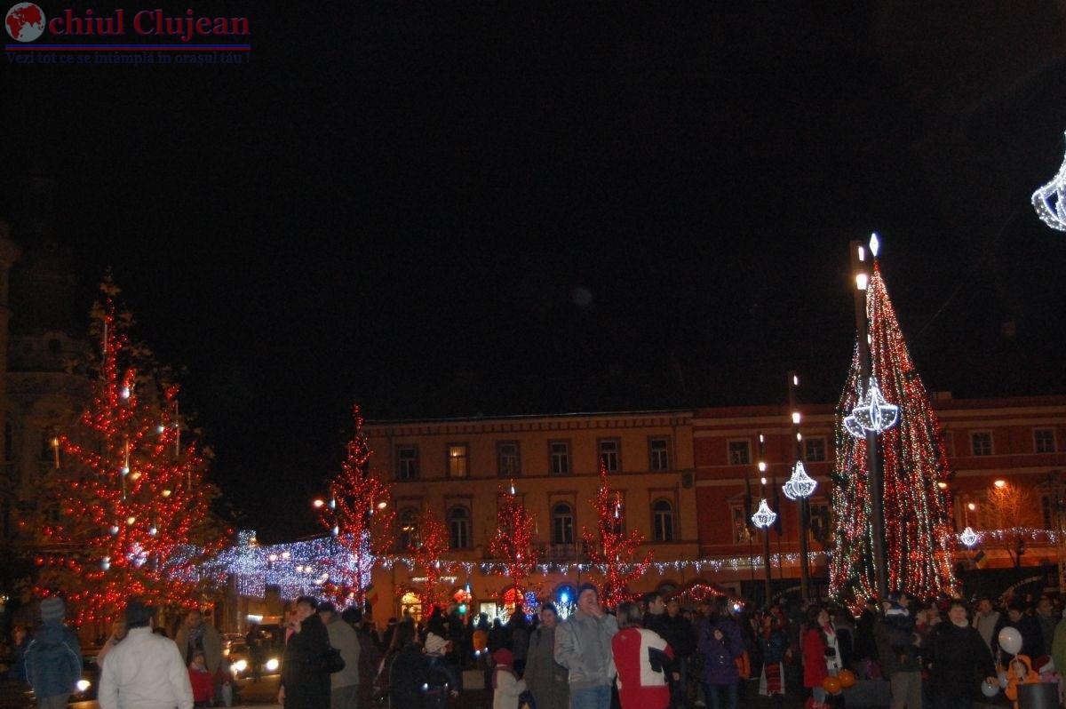 Targul de Craciun se deschide la Cluj in 1 Decembrie. Vezi programul