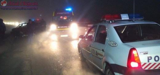 Accident cu patru masini la Jucu! Trei persoane au ajuns la spital VIDEO
