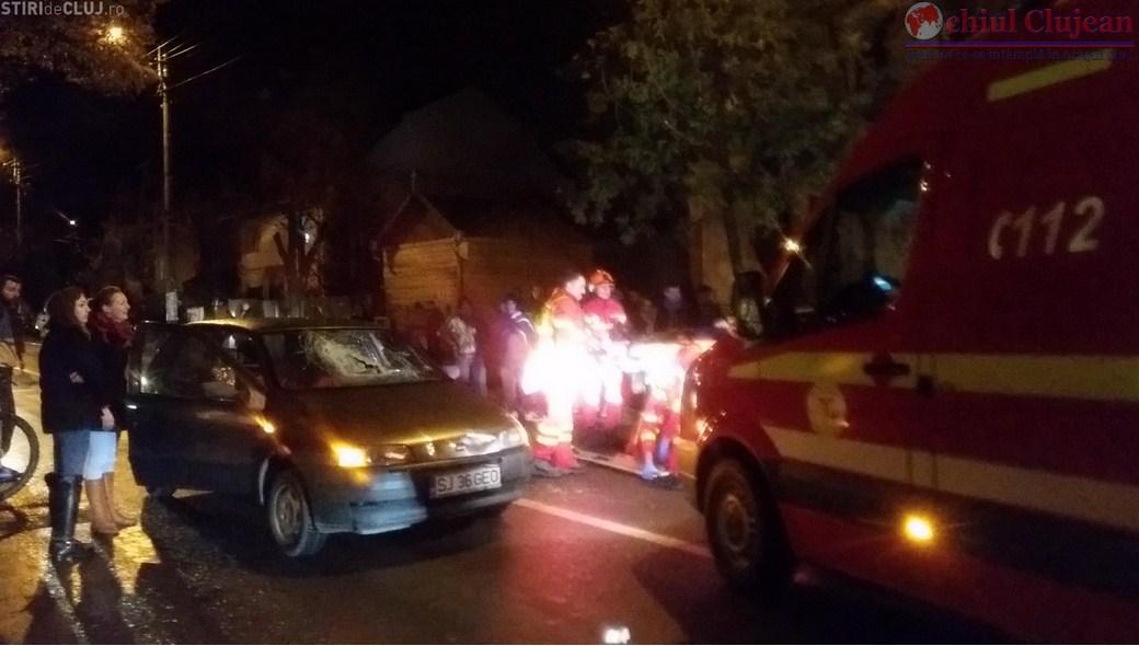 Inca un accident in Gheorgheni! Doua persoane au fost lovite pe trecerea de pietoni exact in locul in care doua femei au fost accidentate de masina duminica seara