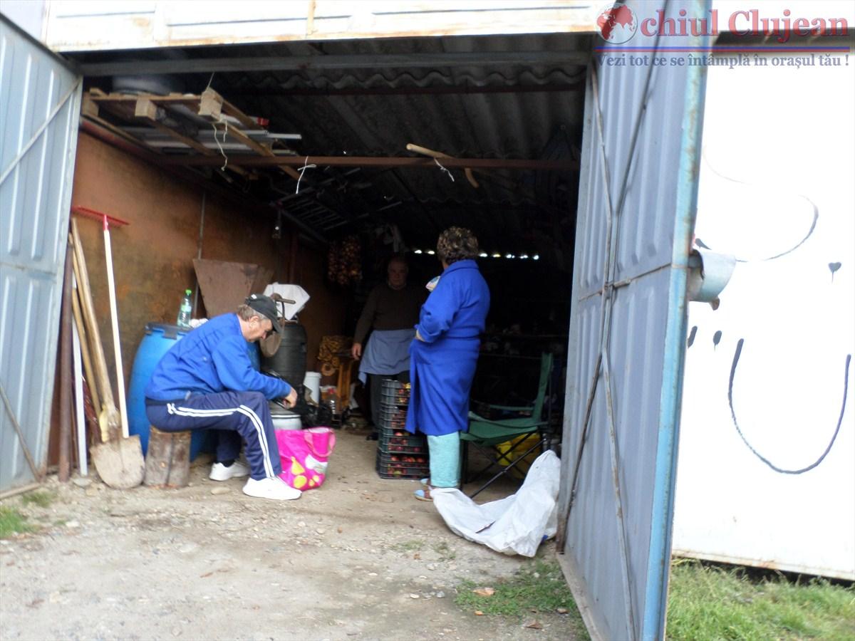 Garajele din Piața Mărăști, verificate de polițiștii locali