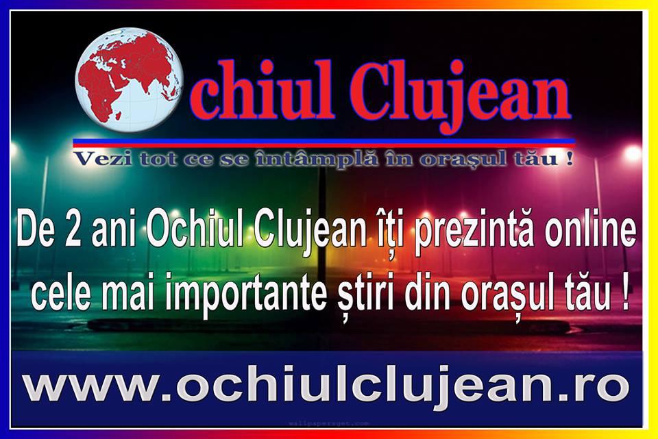Ochiul Clujean implineste astazi 2 ani. Va multumim ca ne urmariti!