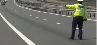 Vitezoman prins cu 198km/h pe Autostrada A3 Turda-Borș