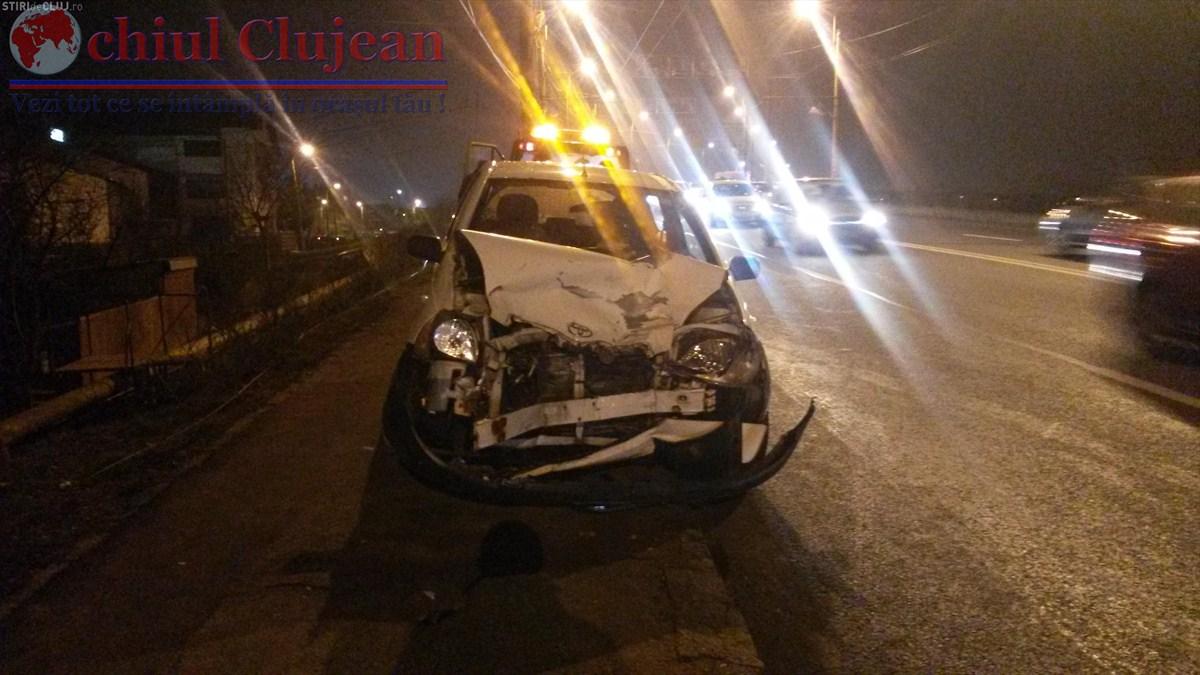 Accident pe strada Traian Vuia, produs de un șofer beat