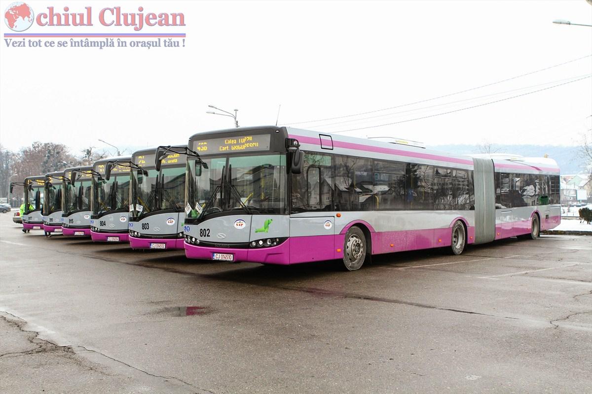 Transportul în comun va fi modificat în perioada Maratonului International Cluj-Napoca