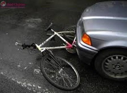 Biciclist accidentat grav în Grigorescu