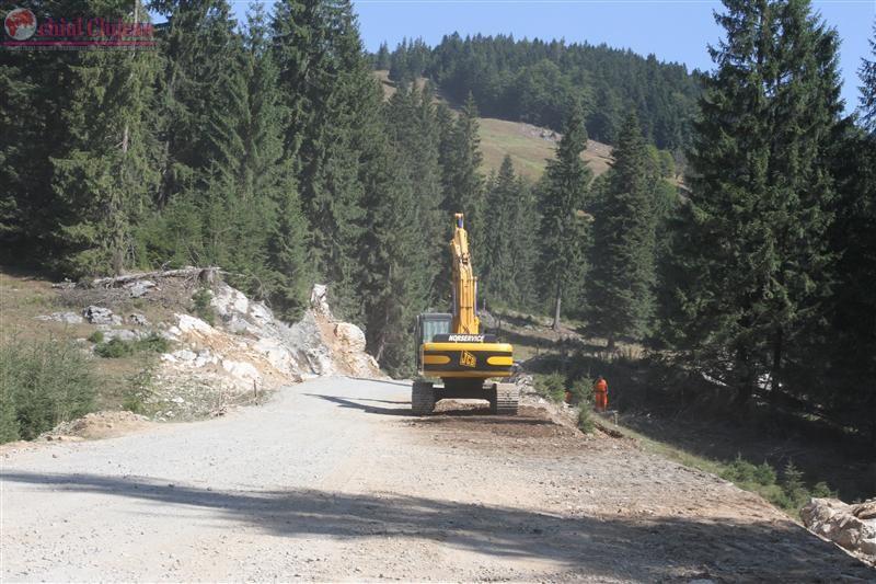 Consiliul Judetean Cluj anunta continuarea lucrarilor la drumul Rachitele-Ic Ponor