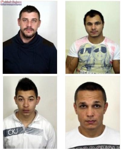 Patru detinuti PERICULOSI au evadat din arestul IPJ Cluj UPDATE-FOTO