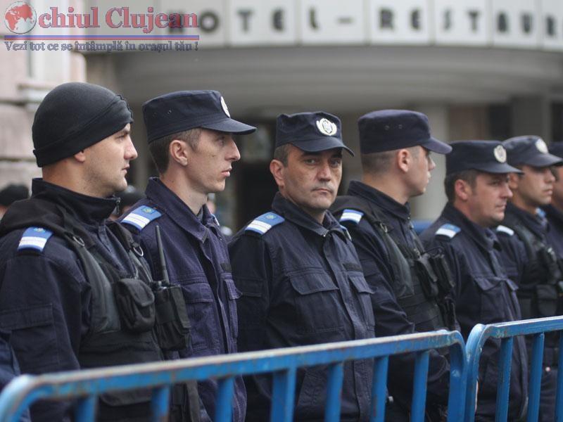 Jandarmii clujeni vor asigura masurile de ordine la Gala Internationala de Box