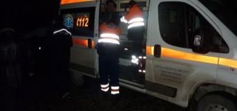 Accident în Turda! Motociclist beat, rănit grav de un autoturism