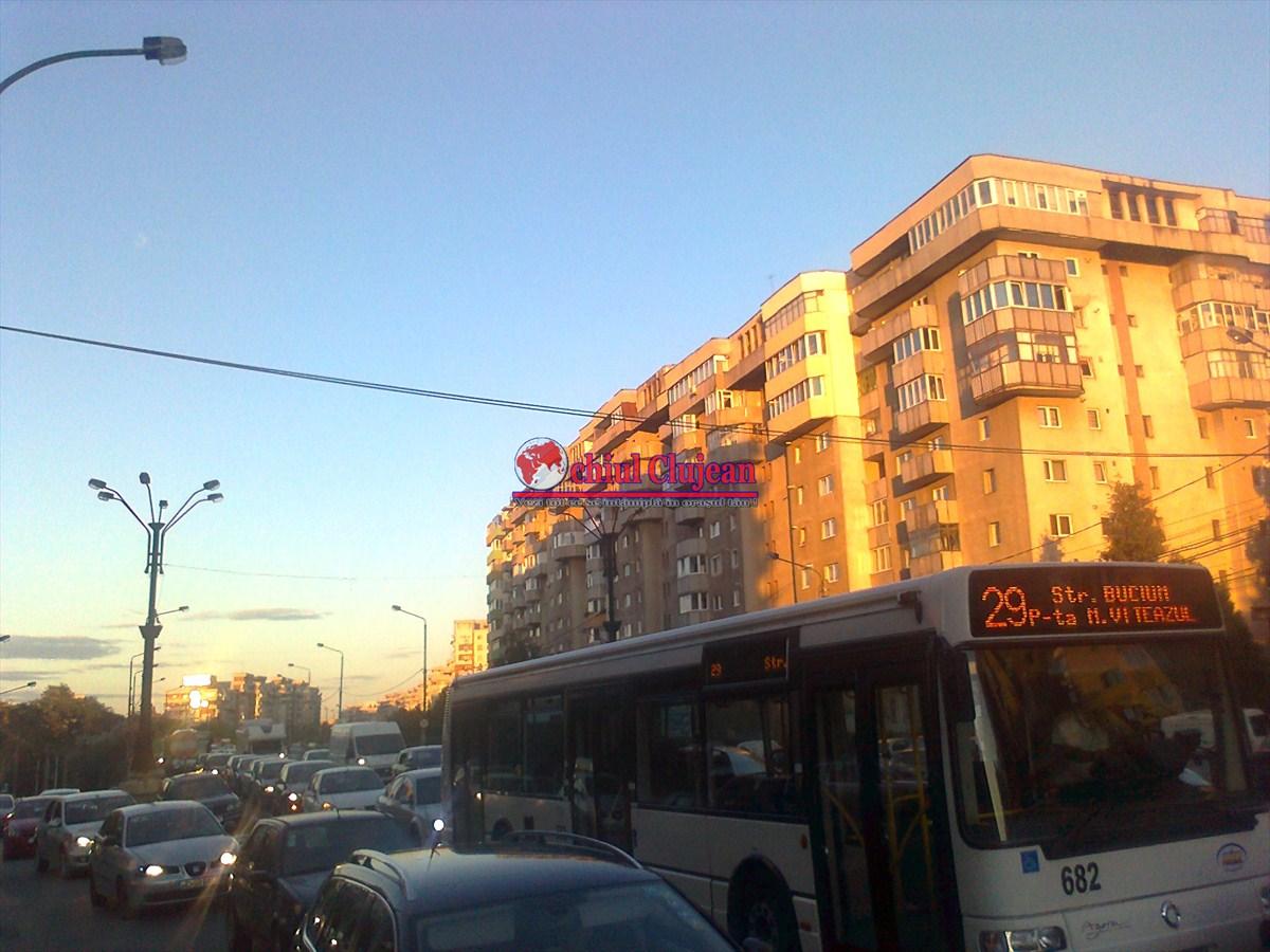 CTP Cluj anulează curse pe linia 29, ca urmare a numărului redus de călători