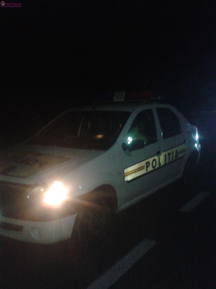 Clujean identificat de polițiști după ce a cauzat un accident și a fugit de la fața locului