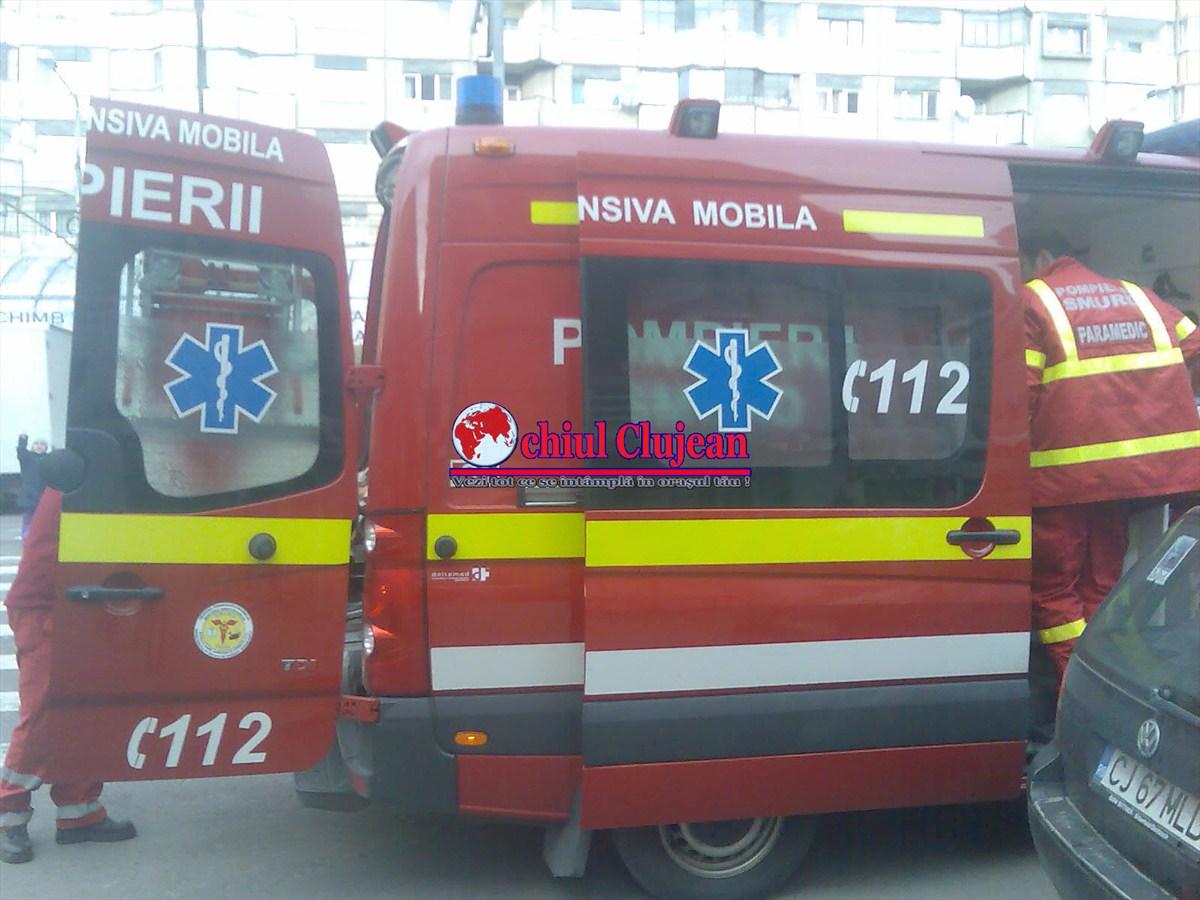 Pieton rănit grav în Piața Cipariu