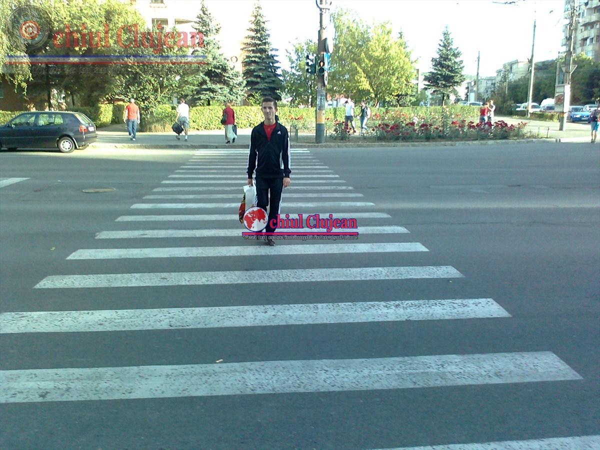 Cluj: Pietoni răniți grav în timp ce traversau strada regulamentar