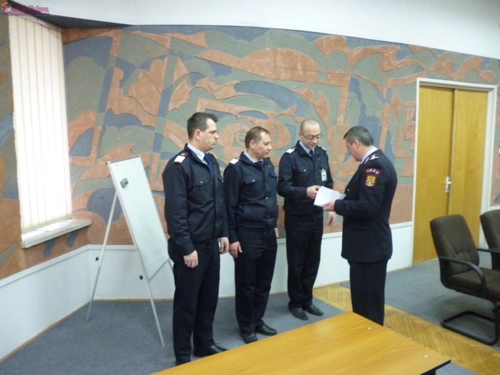 ISU Cluj – Aniversarea Zilei Protectiei Civile si avansari inainte de termen FOTO