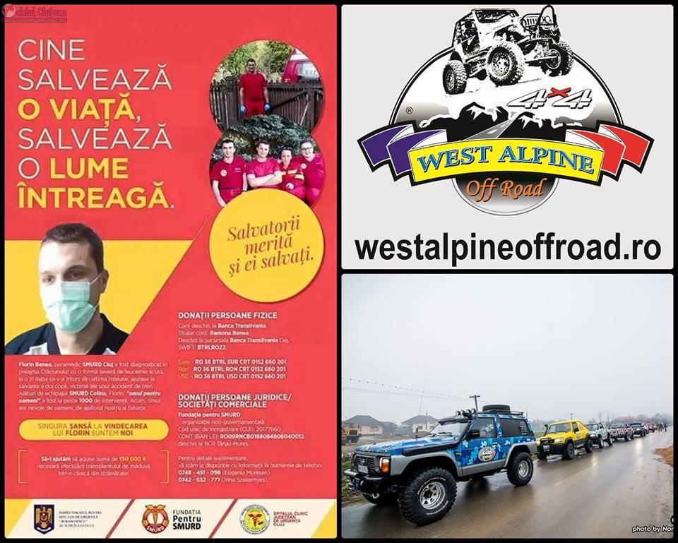 """""""Salvatorii merita si ei salvati"""" West Alpine Off Road vine in ajutorul paramedicului SMURD, Florin Benea"""