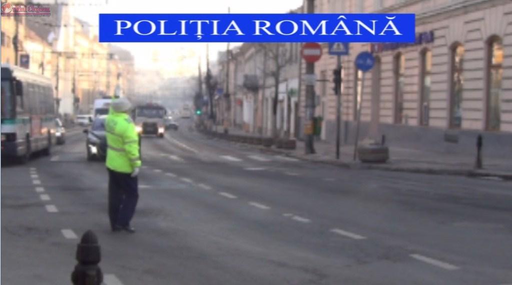 Razie in trafic la Cluj! Peste 700 de soferi, pietoni si biciclisiti au fost sanctionati de politistii clujeni VIDEO