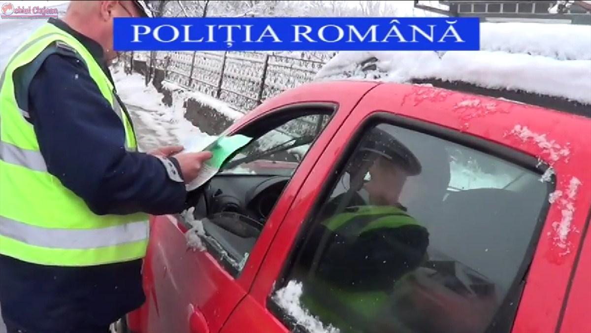 Ample actiuni ale politistilor clujeni pentru prevenirea si combaterea faptelor ilicite VIDEO