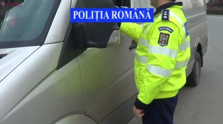Actiune de amploare a politistilor clujeni la Turda VIDEO