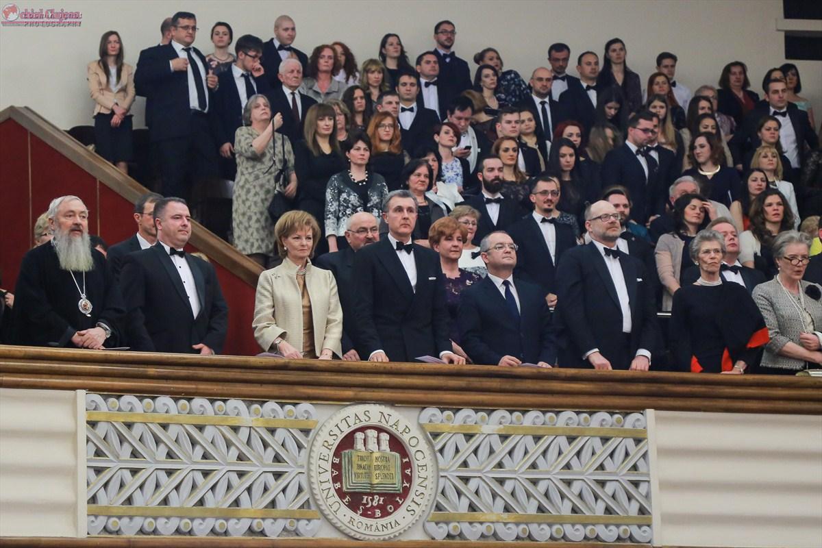 Principesa Mostenitoare Margareta a Romaniei si Principele Radu, Cetateni de Onoare ai judetului Cluj