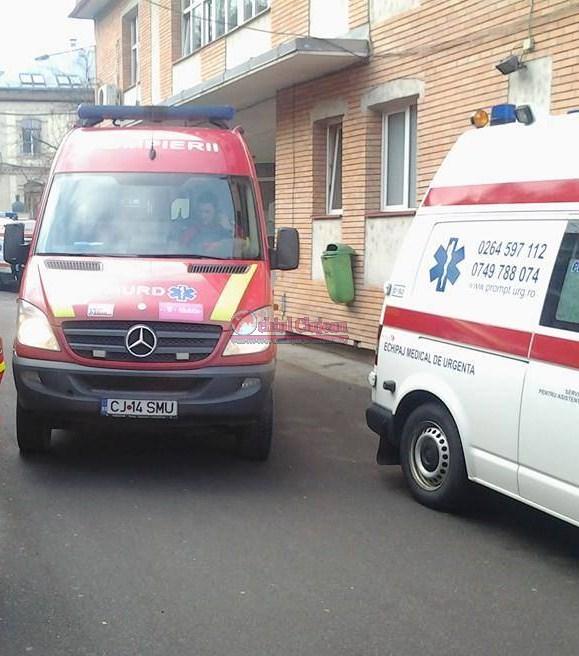 Accident grav în Cluj! O femeie a ajuns la spital