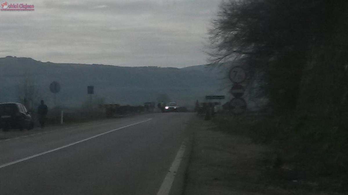 DN1C se inchide pe raza comunei Mintiu Gherlii! Vezi pe unde este deviat traficul