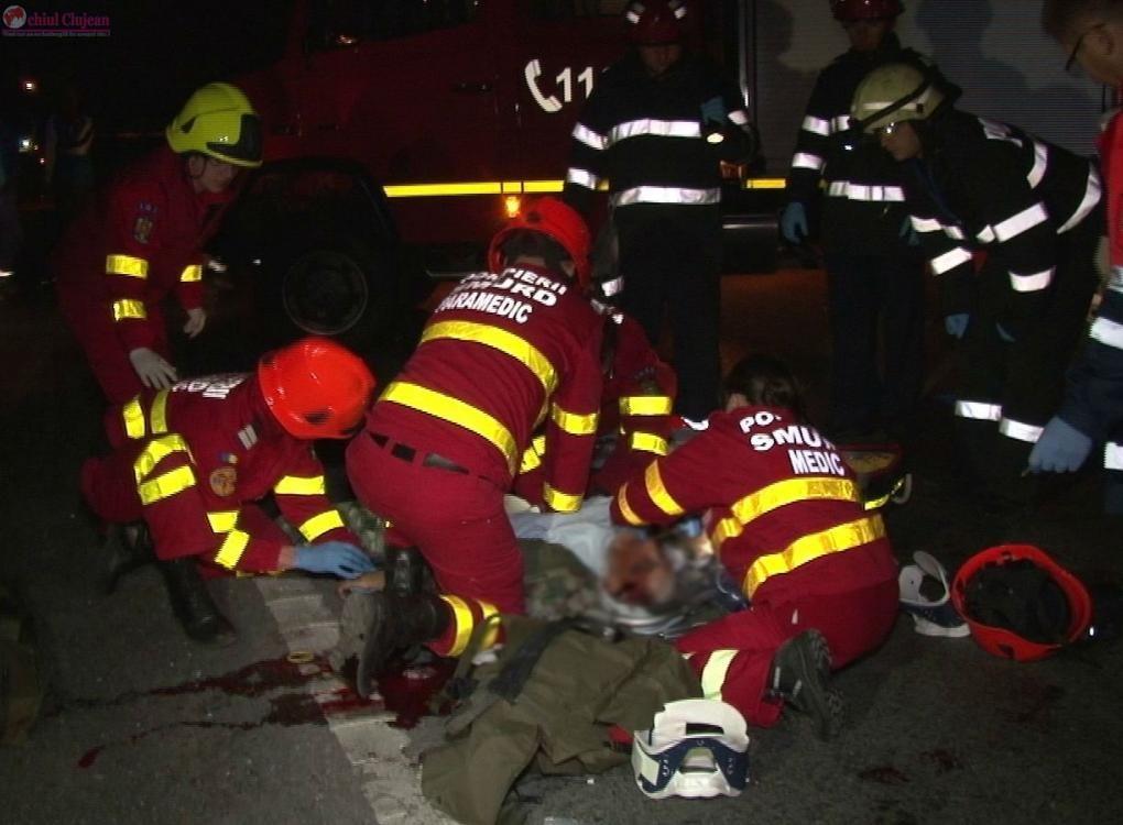 Accident pe Nicolae Titulescu! Un pieton a ajuns in coma la spital VIDEO