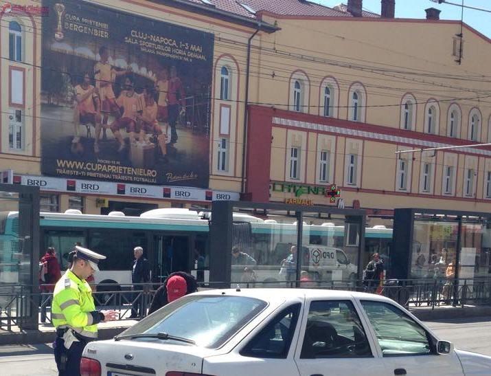 Razie in trafic la Cluj! Amenzi record pentru soferi si pietoni in doar cateva ore FOTO
