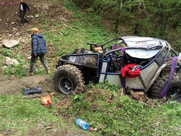 Tragedie de 1 MAI! O tanara de 26 de ani si-a pierdut viata in urma unui accident off-road UPDATE-FOTO