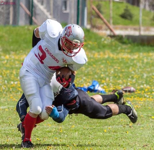 Echipa de fotbal american, Cluj Crusaders ramane neinvinsa