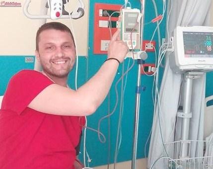 Paramedicul SMURD Cluj, Florin Benea, externat după ce a fost supus unui transplant de măduvă