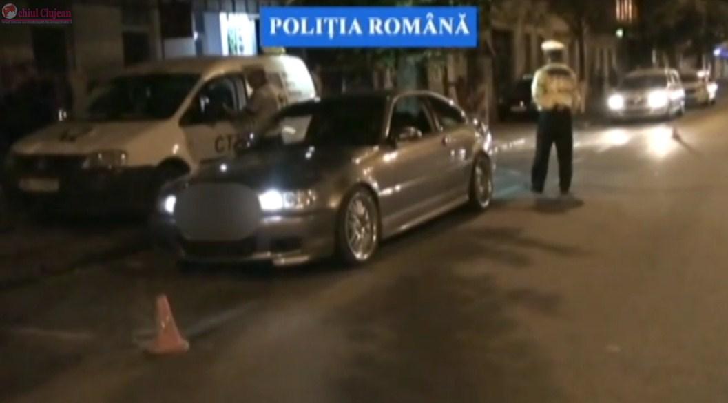 Razie pe Dorobanților! Zeci de mașini au fost verificate în doar câteva ore. Polițiștii au aplicat sancțiuni de 5.800 de lei
