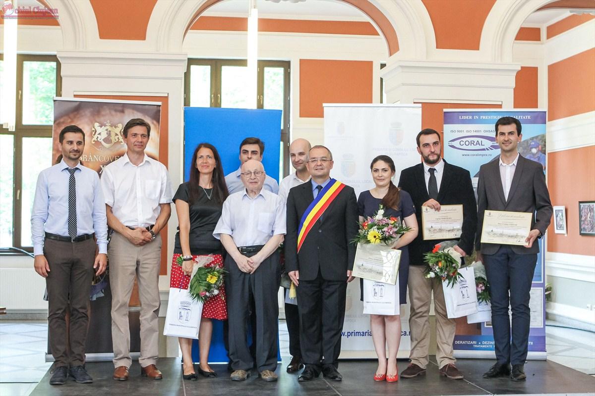 """Câștigătorii concursului """"Tineri Cercetători în Știință și Inginerie"""""""