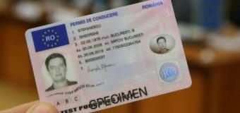 Bărbat din Gilău, depistat în trafic fără permis de conducere