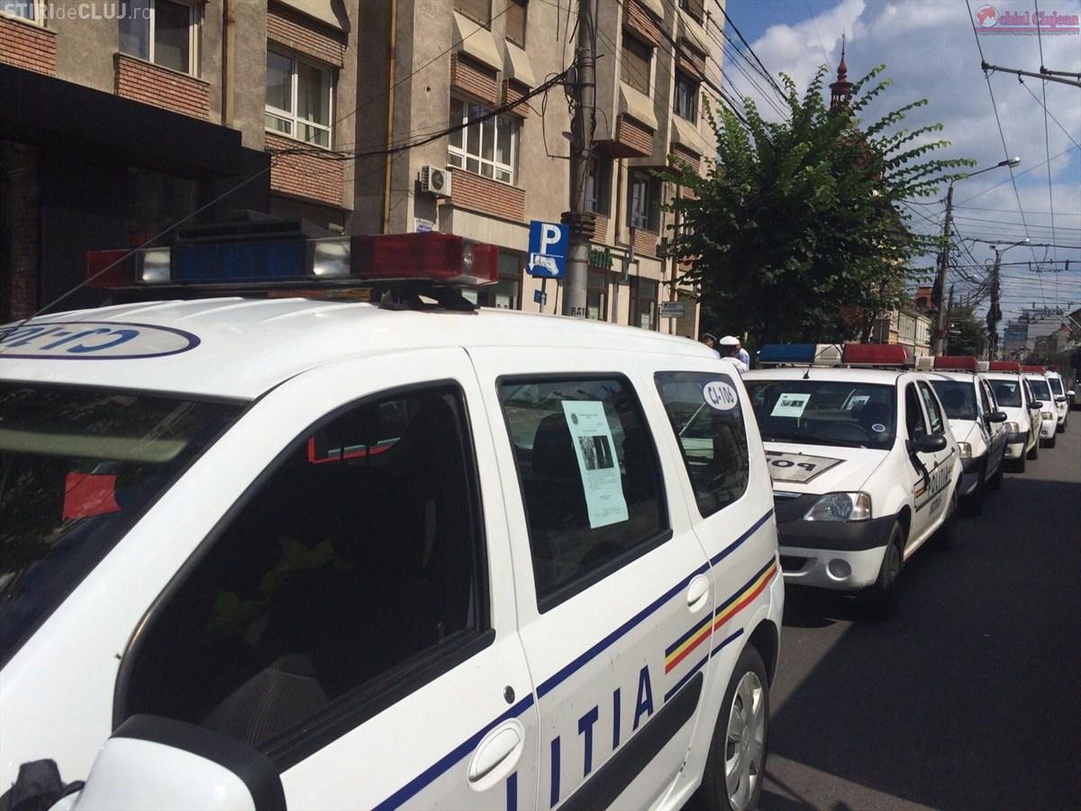 Moment de reculegere la Cluj în memoria polițistului omorât de un milionar turc FOTO