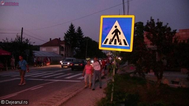 Accident la Cuzdrioara! Femeie rănită grav pe trecerea de pietoni VIDEO