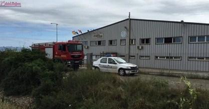 Panică la o fabrică din Dej. Muncitorii au fost evacuați din cauza unui incendiu  VIDEO