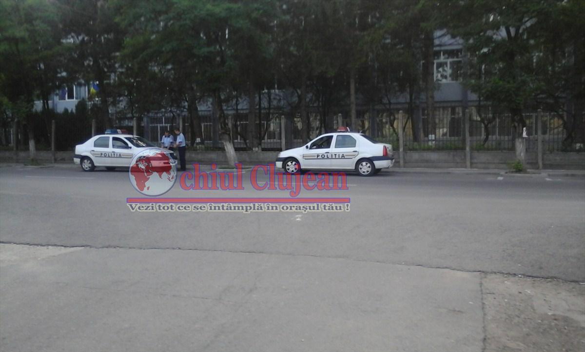 Poliția clujeană, alături de elevi, la începutul noului an școlar