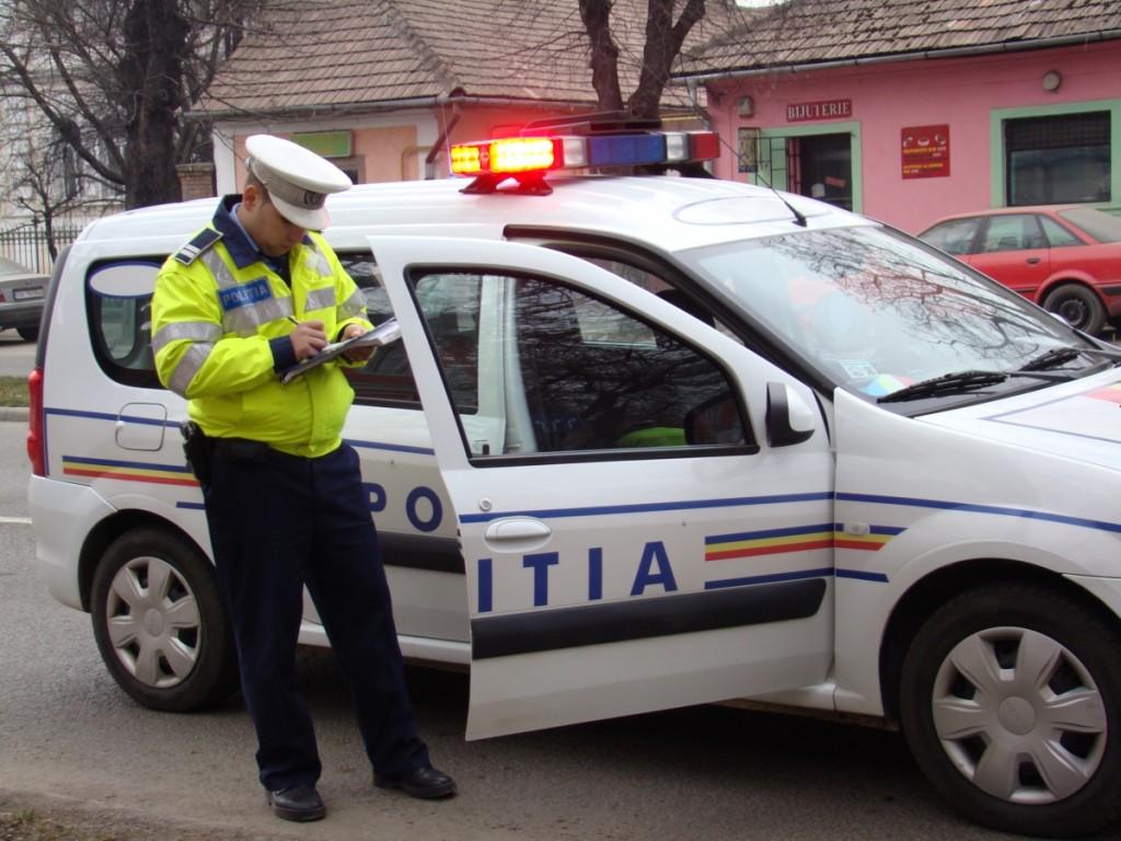 Masina furata din Italia, depistata de politisti la Cluj